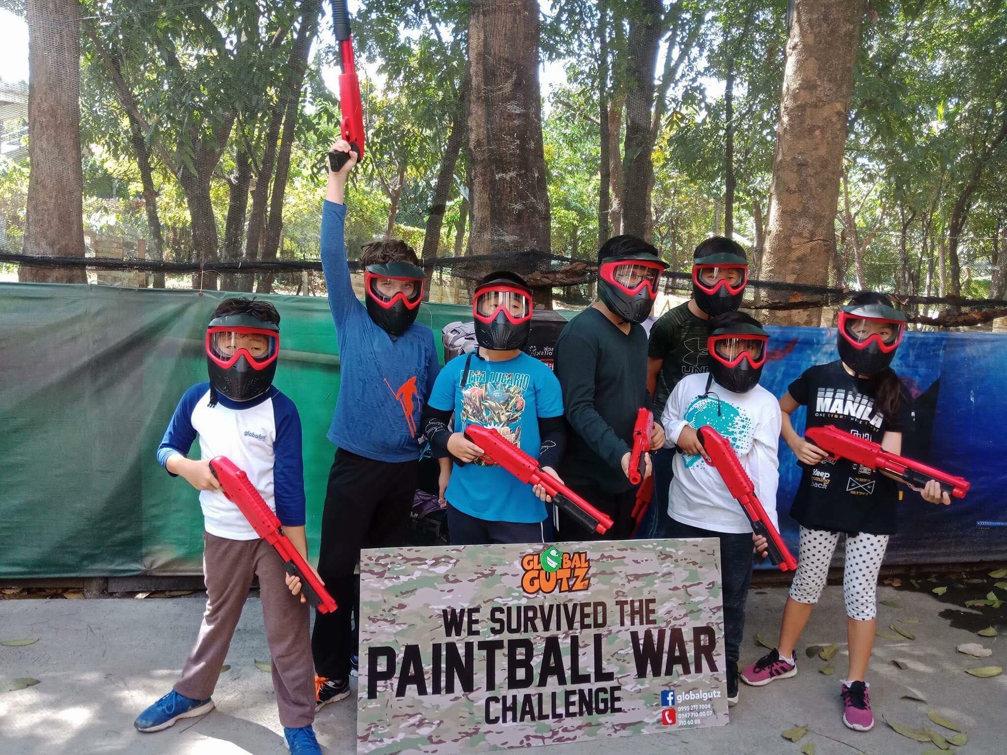 Global Gutz Kiddie Paintball